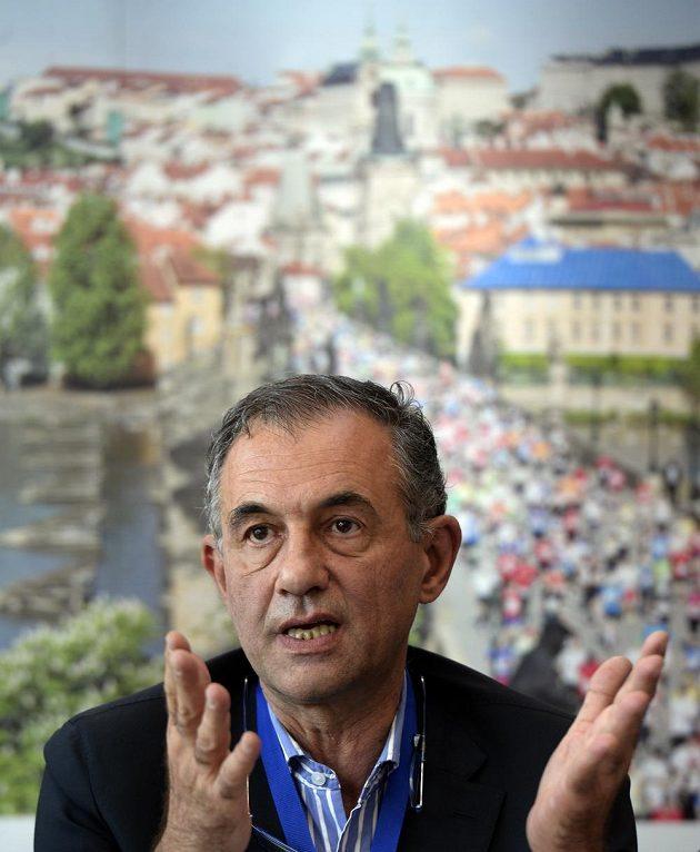 Prezident organizačního výboru běžeckého závodu Birell Grand Prix Praha Carlo Capalbo.