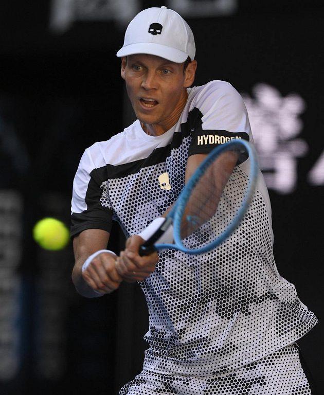 Tomáš Berdych v 1. kole Australian Open.