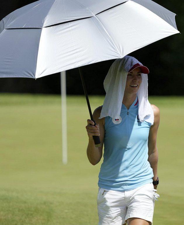 Klára Spilková vstoupila do golfového turnaje výborně