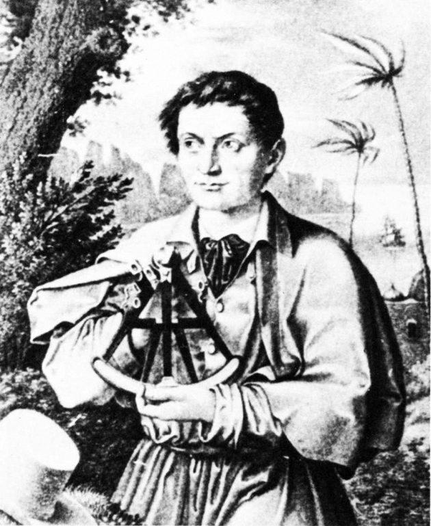 Jediný dochovaný portrét Mensena Ernsta.