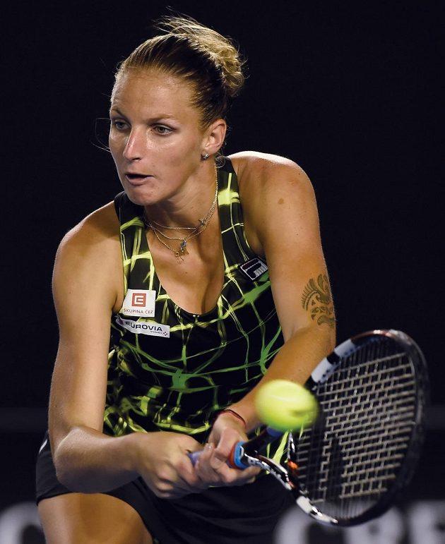 Česká tenistka Karolína Plíšková (na snímku) porazila ve druhém kole Australian Open Němku Julii Görgesovou.