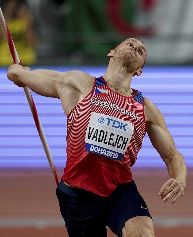 Jakub Vadlejch v oštěpařském finále.