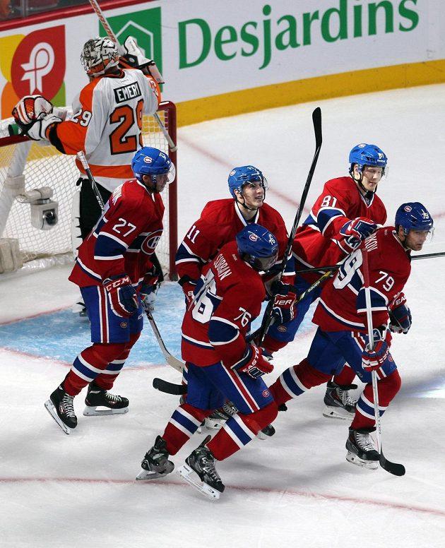 Hokejisté Montrealu zvítězili na domácím ledě v utkání s Philadelphií.