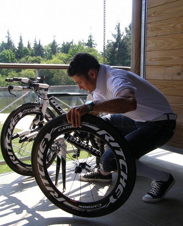 Jiří Ježek chystá speciál pro svůj start v roli předjezdce při středeční časovce na Tour de France.