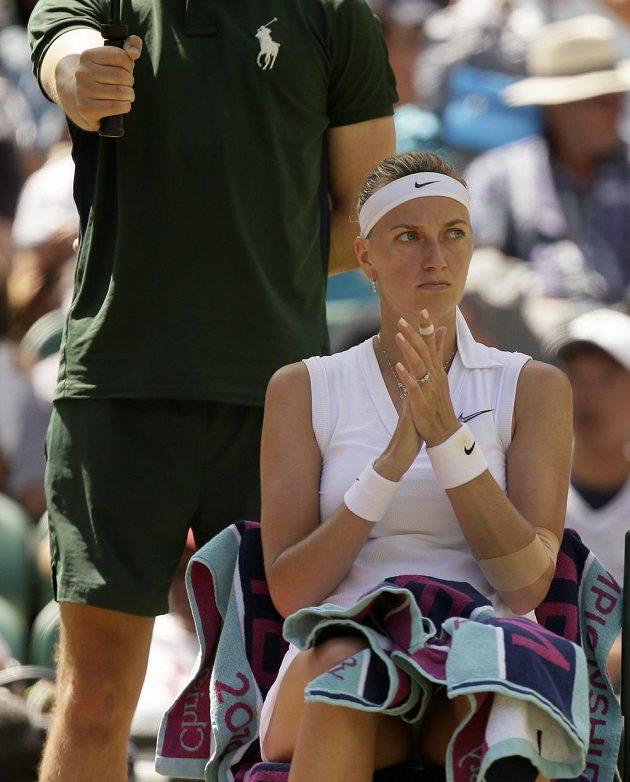 Tenistka Petra Kvitová se ve Wimbledonu rozjela. Dvojnásobná šampionka je po výhře nad Kristinou Mladenovicovou z Francie už ve 3. kole.