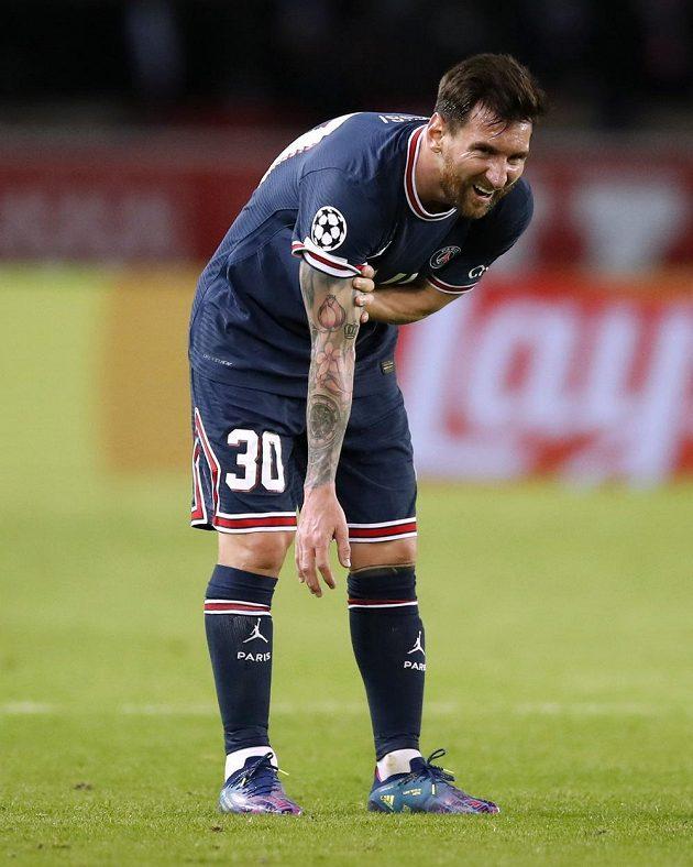 Lionel Messi se vrátil po zranění na trávník a svůj výkon proti Manchesteru City v Lize mistrů ozdobil gólem.