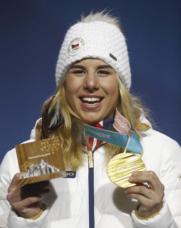 Ester Ledecká získala pro Českou republiku dvě zlaté medaile.