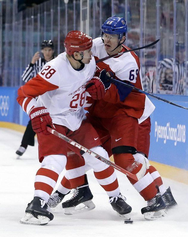 Andrej Zubarev a Lukáš Radil v souboji o finále v Koreji.