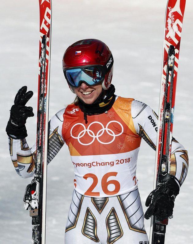 Ester Ledecká jásá, v Koreji se triumfem v super-G postarala o historicky první české lyžařské olympijské zlato.