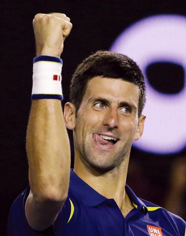 Je dobojováno! Novak Djokovič ze Srbska je na Australian Open ve finále.