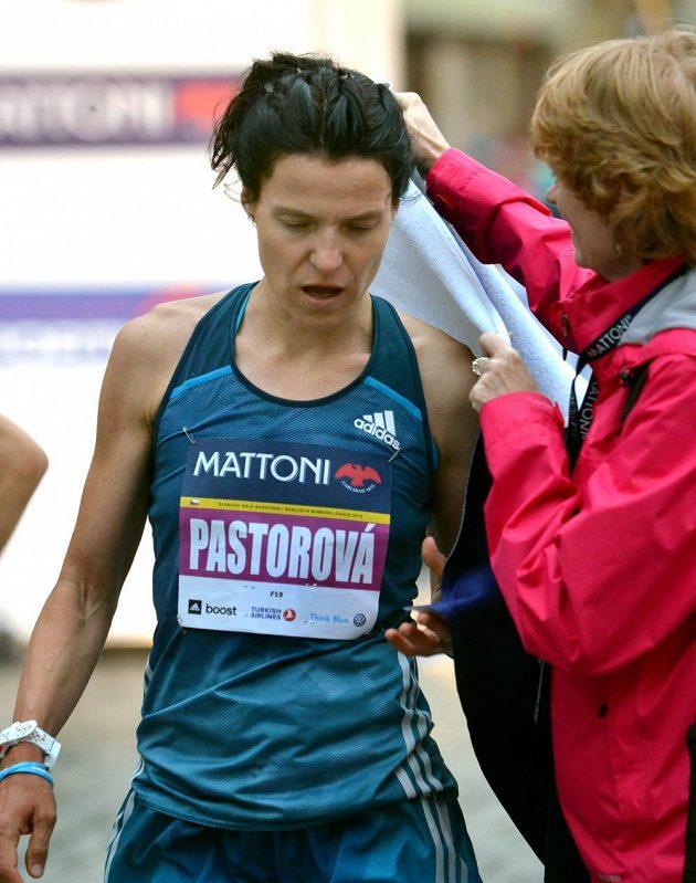 Nejrychlejší českou běžkyní na půlmaratónu v Olomouci byla Petra Pastorová.