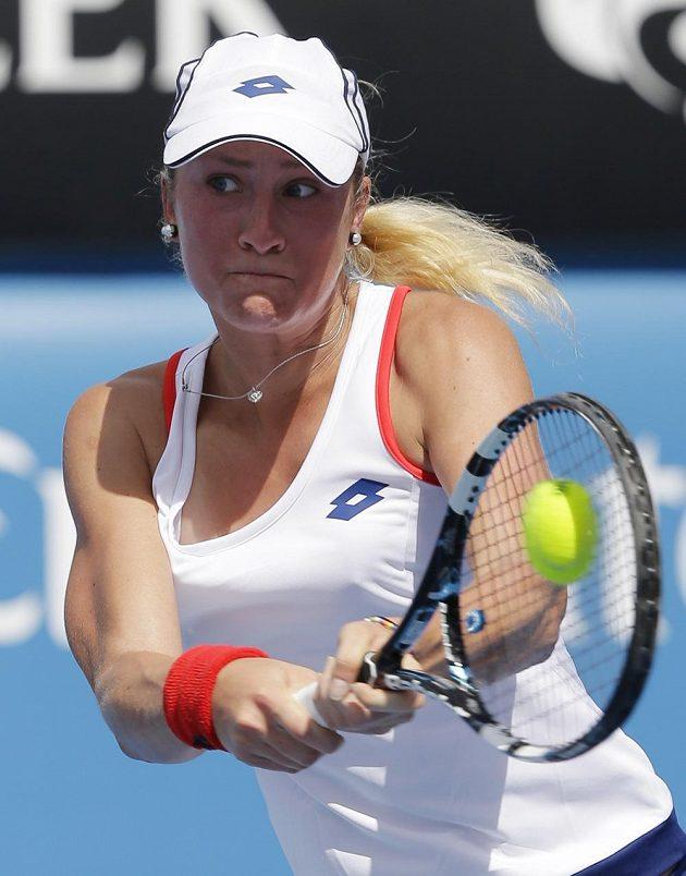 Česká tenistka Denisa Allertová.