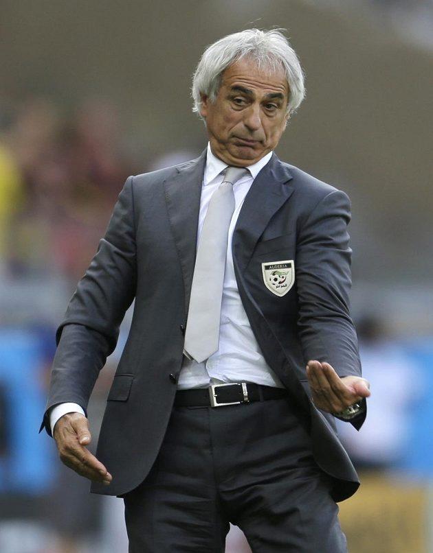 Trenér Alžírska Vahid Halilhodžič.