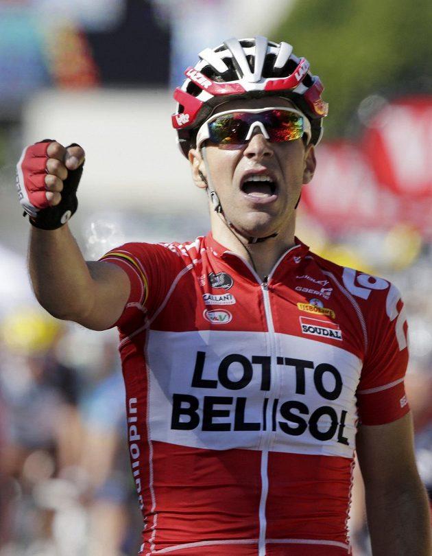 Francouz Tony Gallopin jásá, vyhrál 11. etapu Tour.