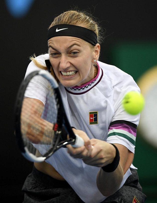Česká tenistka Petra Kvitová smetla ve druhém kole Rumunku Beguovou ve dvou setech.