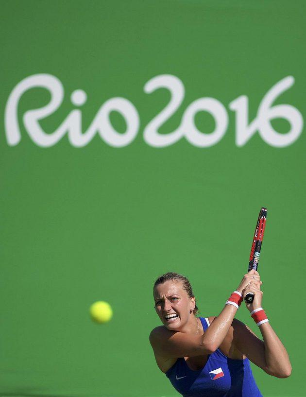 Petra Kvitová předvedla v boji o bronz na olympiádě v Riu výtečný výkon.