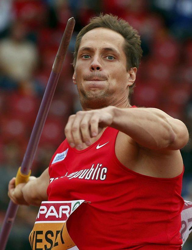 Vítězslav Veselý uspěl v kvalifikaci oštěpařů.