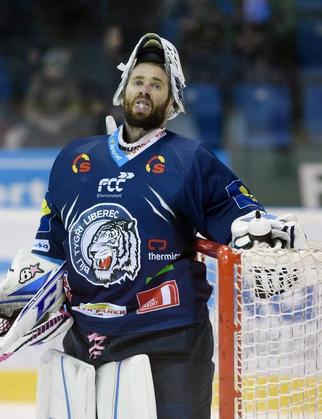Liberecký brankář Marek Schwarz udržel v Olomouci nulu.