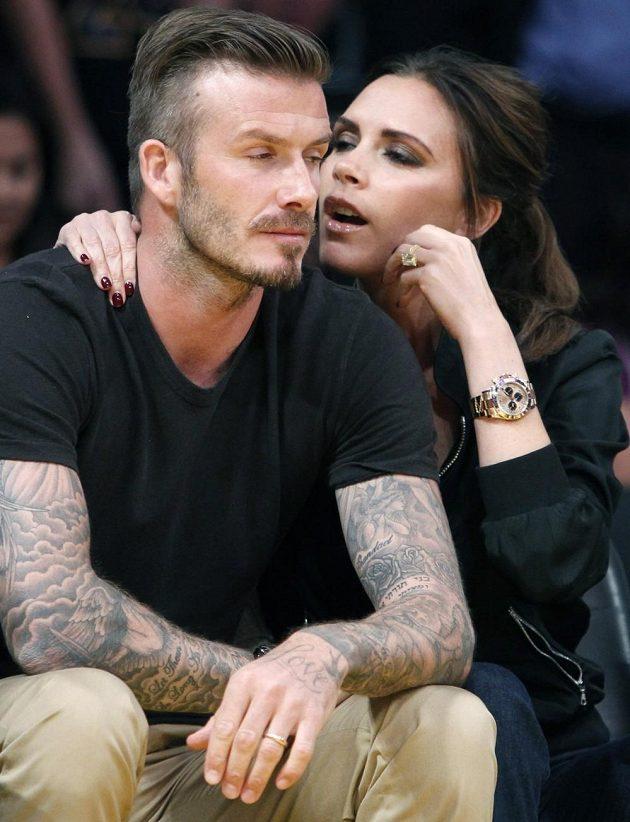 Hodíme se k sobě, miláčku...? David Beckham se svojí ženou Victorií.