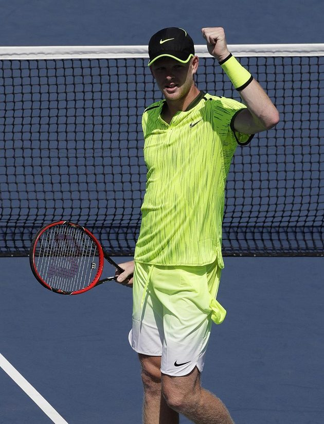 Kyle Edmund na US Open.