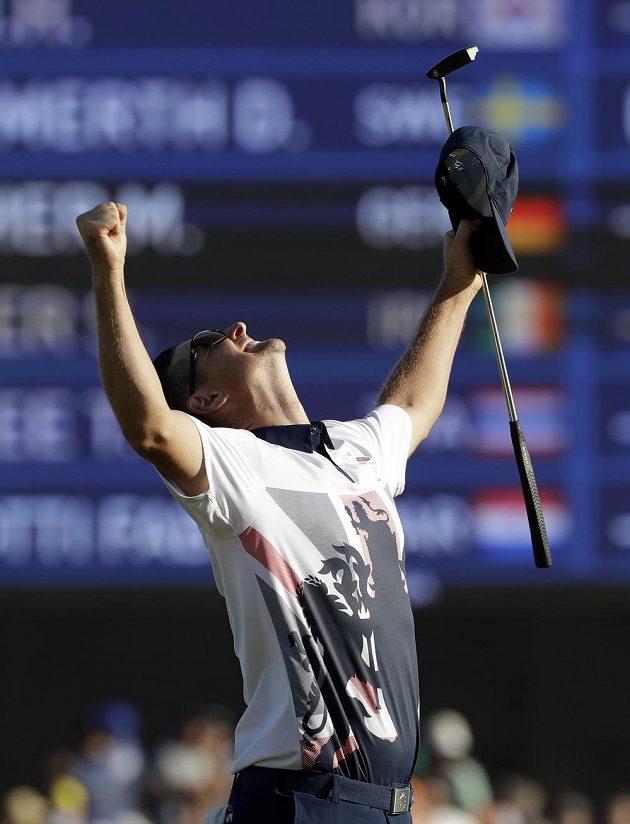 Mám zlato! Justin Rose kraloval v Riu golfistům.