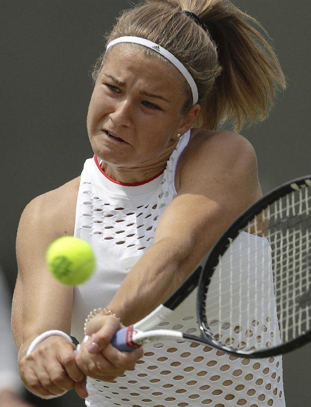 Odhodlání české tenistce Karolíně Muchové nechybí. Dokazuje to i ve Wimbledonu.