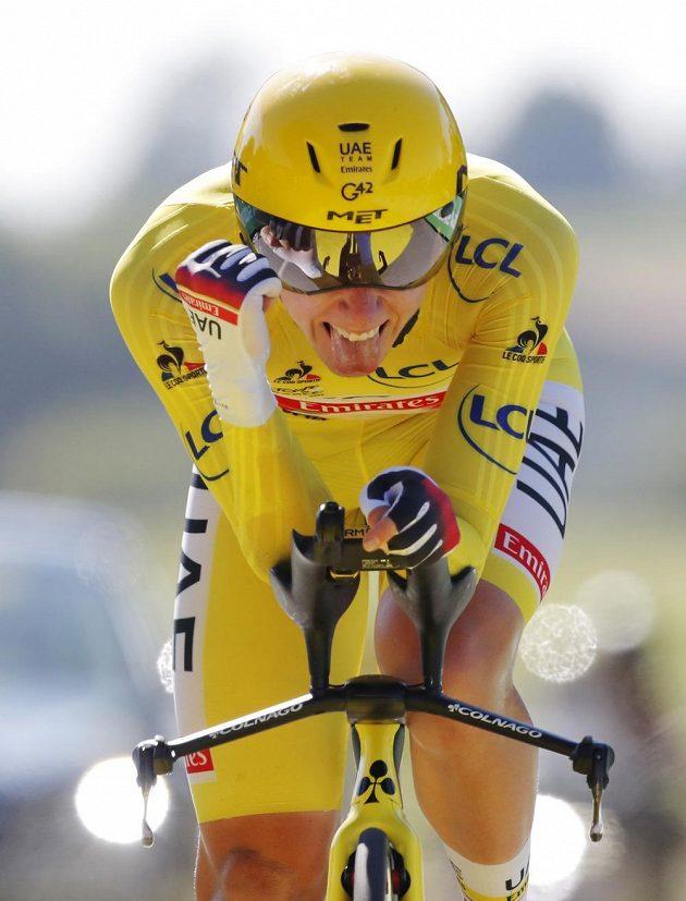 Slovinský cyklista Tadej Pogačar obhájí vítězství na Tour de France. V předposlední etapě, kterou byla časovka na 30,8 kilometru, obsadil dvaadvacetiletý jezdec osmé místo a má více než pětiminutový náskok na druhého Jonase Vingegaarda z Dánska.