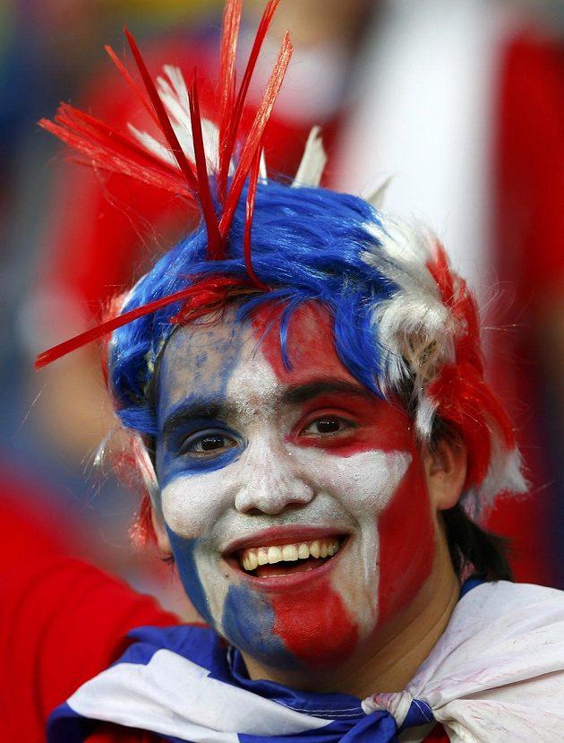 Chilští fanoušci měli během zápasu s Austrálií důvod ke spokojenosti.