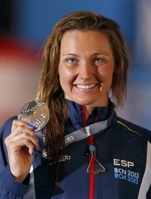 Španělka Melanie Costová na domácí půdě vybojovala stříbro v závodu na 400 metrů volným způsobem.