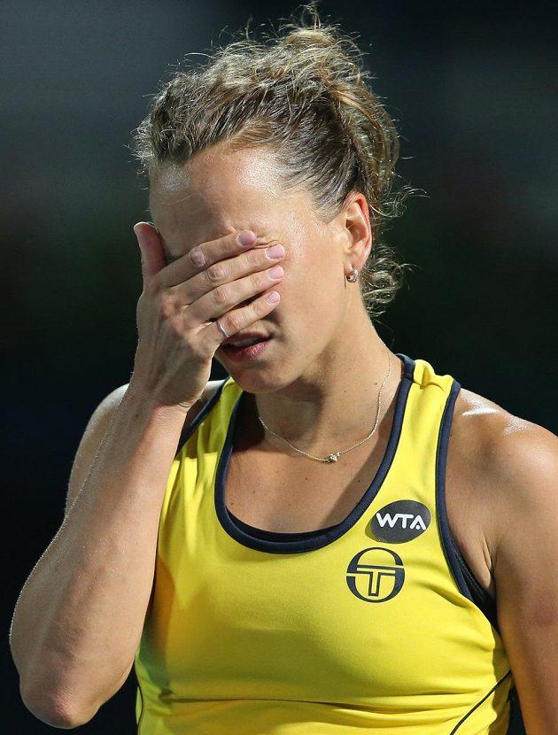 Bára Strýcová prožila v Dubaji výtečný týden, ale na finále raději rychle zapomene.