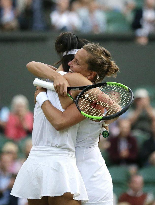 Barbora Strýcová a Sie Šu-wej Tchaj-wanu triumfovaly ve Wimbledonu