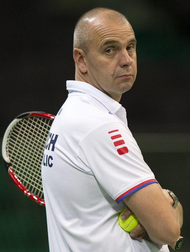 Vladimír Šafařík, který nahradil pro finále Davisova poháru v Srbsku v roli kapitána Jaroslava Navrátila.