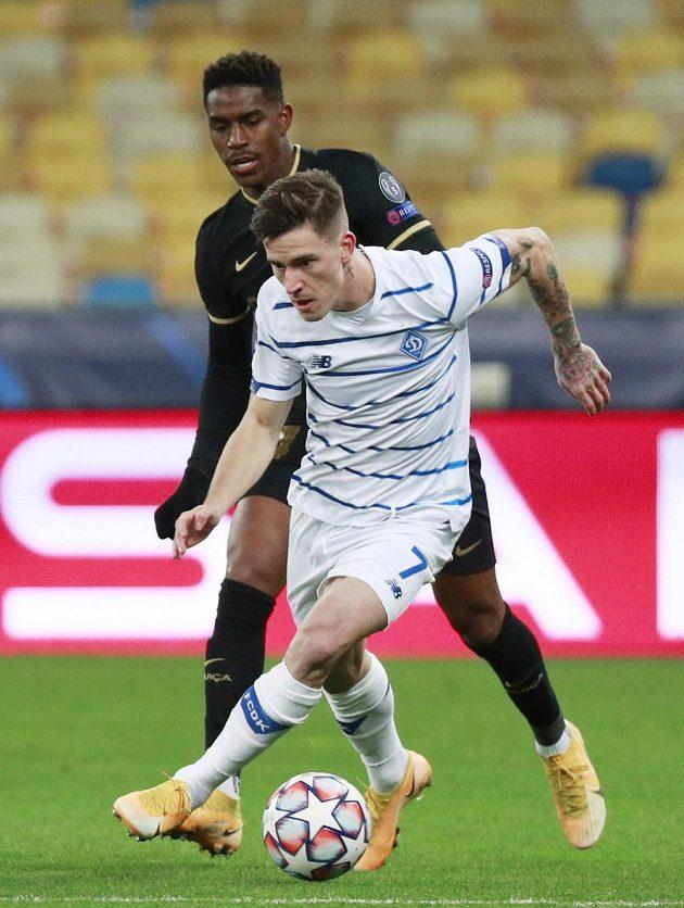 Dynamo Kyjev přivítalo ve čtvrtém kole Ligy mistrů Barcelonu