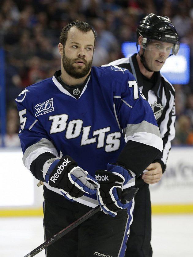 Obránce Radko Gudas je mezi hráči české hokejové reprezentace nominovanými na olympijské hry v Soči.