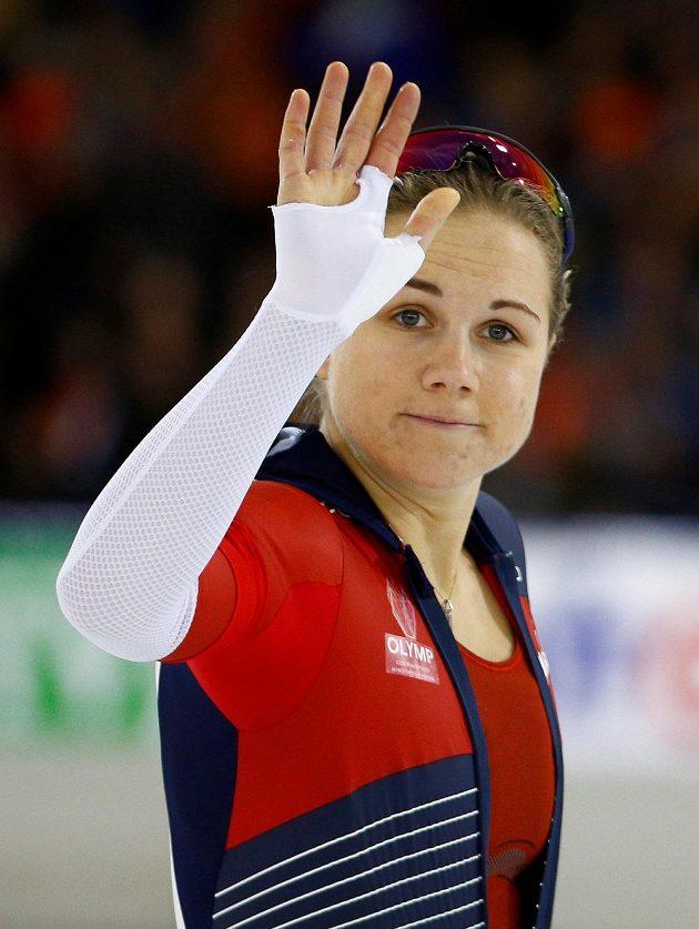 Karolína Erbanová porazila v Heerenveenu celý zbytek sprinterské Evropy.