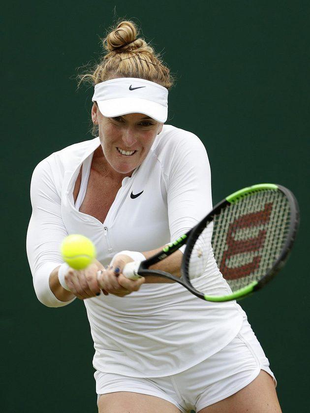 Americká tenistka Madison Brengleová letos na travnatých kurtech ve Wimbledonu ve dvouhře dohrála. Podlehla české naději Karolíně Muchové.