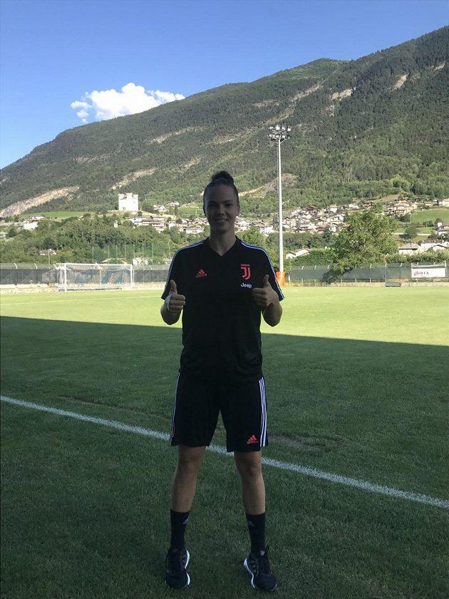 Útočnice Juventusu Turín Andrea Stašková.