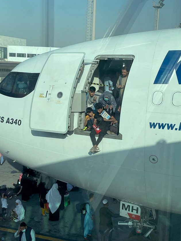 Ilustrační foto z kábulského letiště.