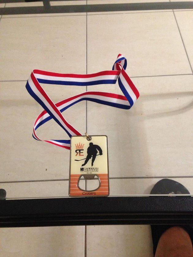 Tuhle medaili vybojoval.