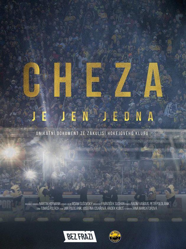 Oficiální plakát dokumentu Cheza je jen jedna.