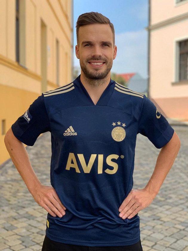 Filip Novák oblékl prestižní dres Fenerbahce Istanbul.