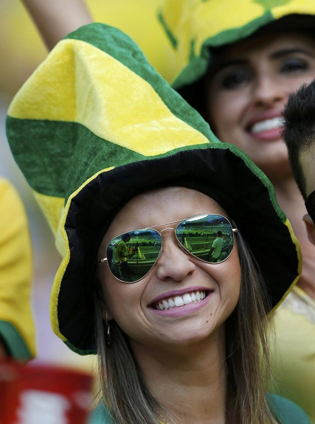Samou radost dělali fotbalisté Brazílie domácím fanynkám.