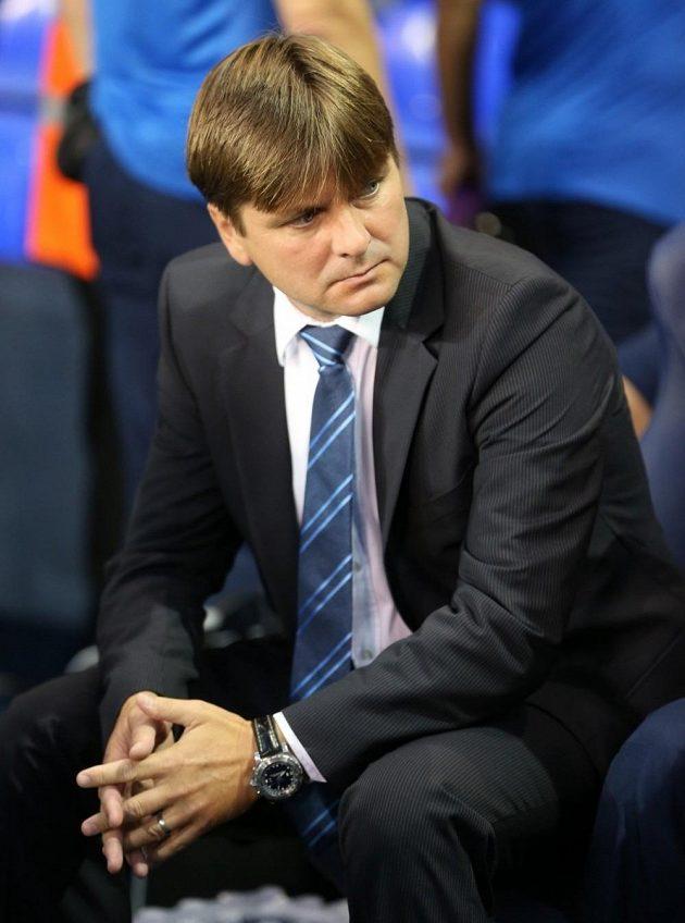 Dušan Uhrin mladší ještě v době, kdy vedl Dinamo Tbilisi.