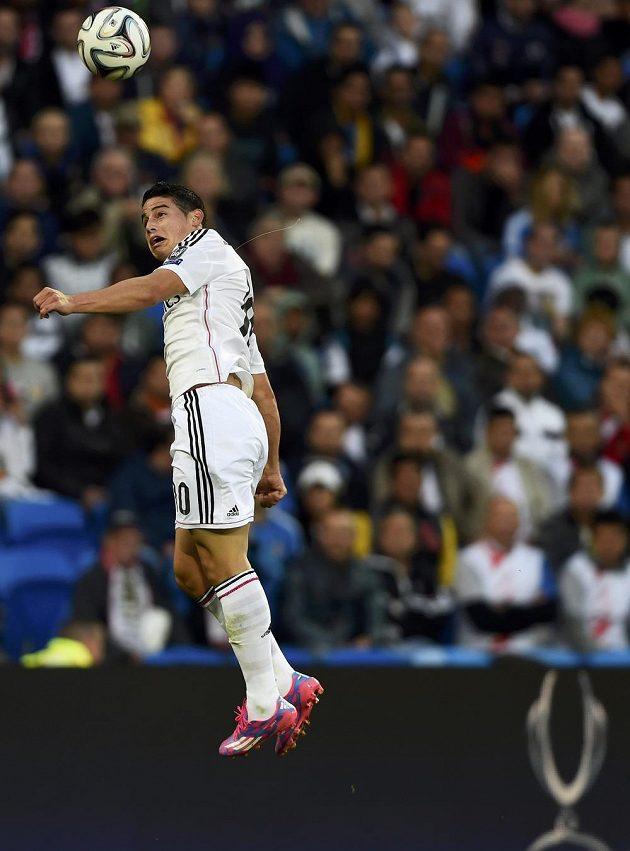 Také James Rodríguez nastoupil v Superpoháru v základní sestavě Bílého baletu.