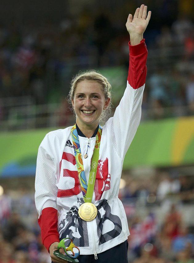 Laura Trottová získala v Riu druhé zlato.