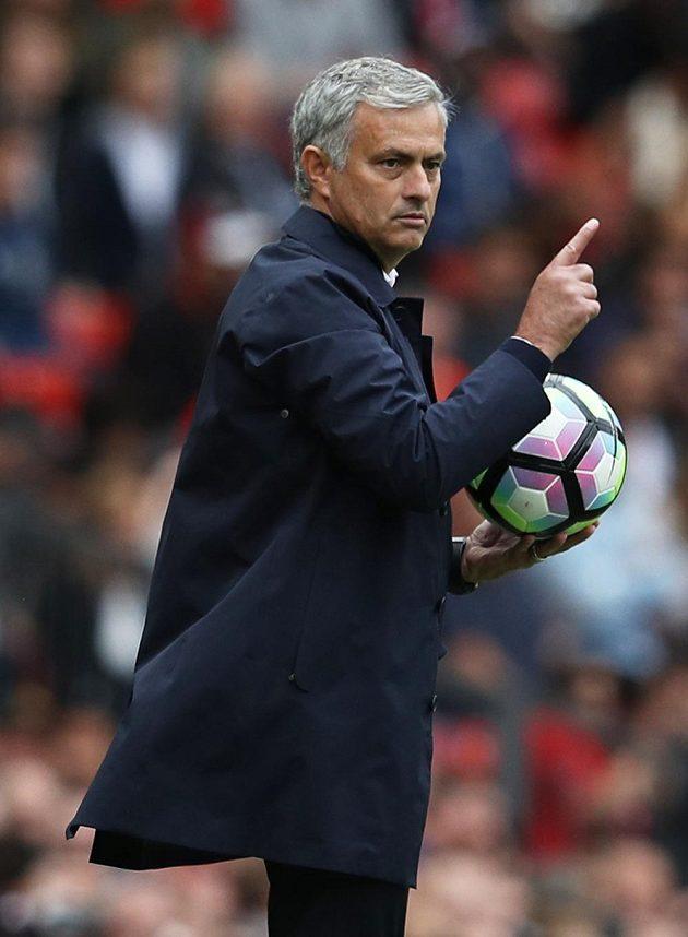 Manažer Manchesteru United José Mourinho.