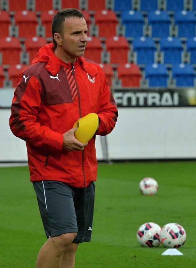 Trenér plzeňských fotbalistů Karel Krejčí.