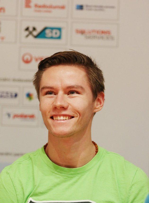 Čtvrtkař Pavel Maslák si o víkendu otestuje formu na halovém mistrovství republiky v Ostravě.