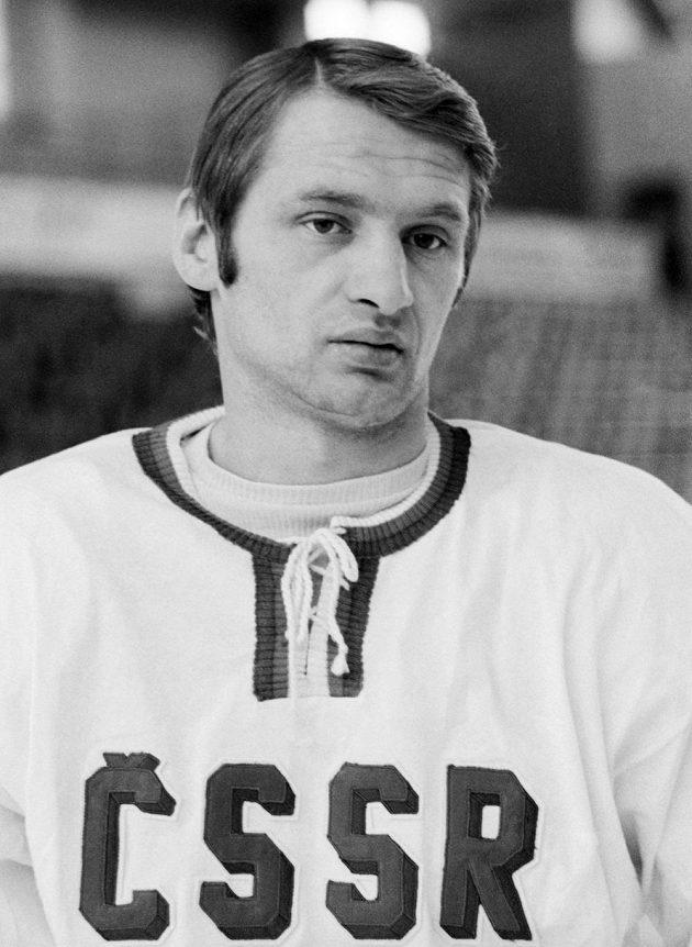 Jaroslav Holík na snímku z 16. února 1972.