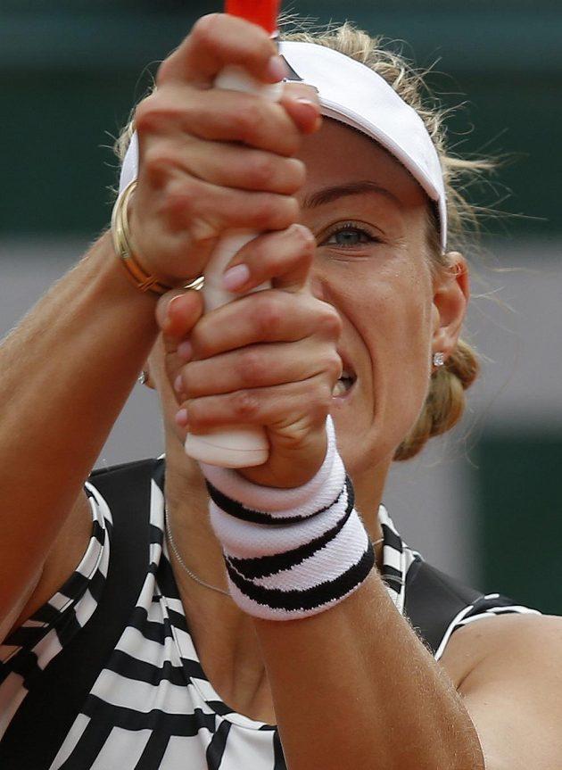 Němka Angelique Kerberová měla zebří i potítka...
